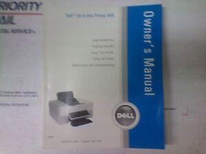 dell model 948 printer owners manual ebay rh ebay com Dell AIO 948 Printer Dell All One Printer 922