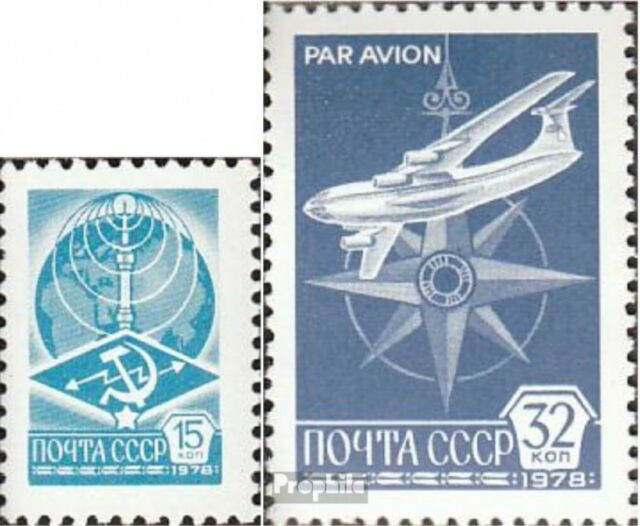 Soviet-Union 4749w-4750w (complete issue) unmounted mint / never hinged 1978 cle