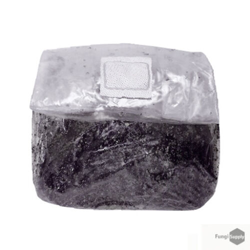 1lb Sterilized 50//50 Casing Substrate Bag for Mushrooms