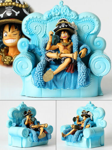 Anime One Piece Figure Jouets Monkey D Luffy Anniversary Figurine Statues 15cm