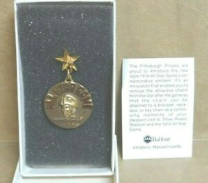 PITTSBURGH-PIRATES-1974-ALL-STAR-GAME-PRESS-PIN-IN-THE-ORIGINAL-BOX-AWESOME