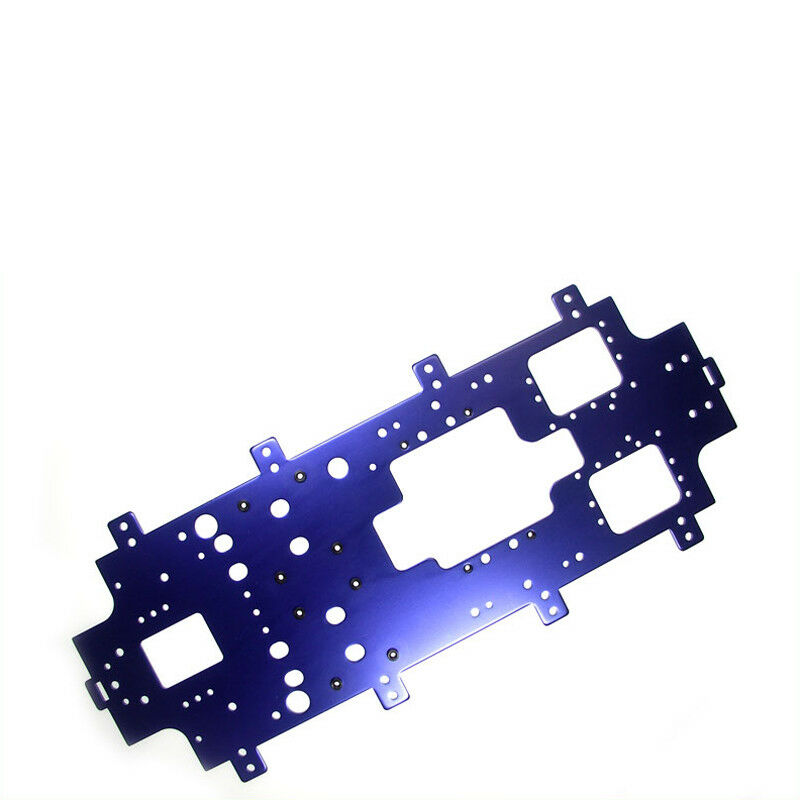 Telaio PRINCIPALE IN ALLUMINIO 3 mm BLU KYOSHO ggw-01   702822