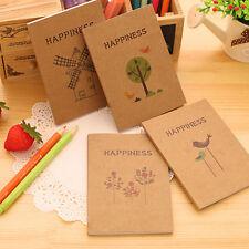 Retro Handmade Journal Memo Dream Notepad Paper Notebook Blank Mini Pocket Diary