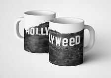 Hollyweed Kaffee Tasse Fun Cup Weed DOPE Gras Kush Hanf Kiffen Marijuana Becher