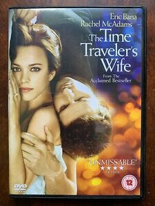 Tiempo de Viajero Wife DVD 2009 Sci-Fi Drama Película de Cine Con Eric Bana