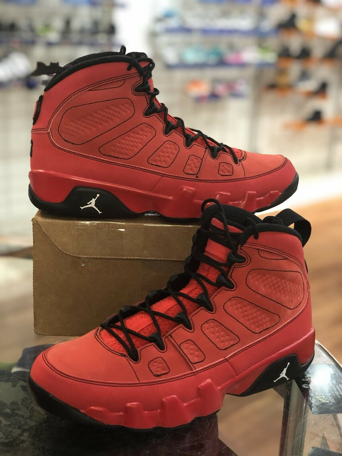 23810676cd4 Brand New Nike Air Jordan 9 Retro RED MOTORBOAT JONES SZ 8.5 302370-645 IX  njnksi2206-Athletic Shoes