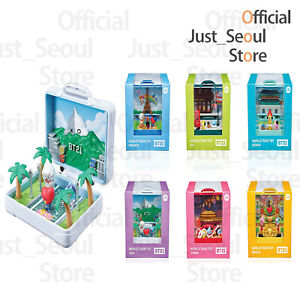 Official BTS BT21 World Tour Figure Travel Diorama Collection+Freebie+Tracking