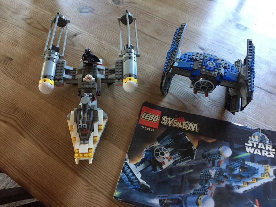 Lego Star Wars, 7150 TIE Fighter & Y-wing