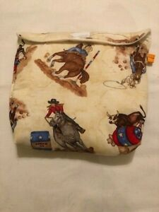 Breyer-classic-pony-pocket-pouch-custom-model-horse-fabric-transport