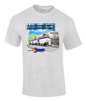 Amtrak Genesis Authentic Railroad T-shirt [20006]