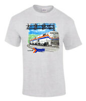 Amtrak Genesis Authentic Railroad T-shirt [20006]