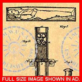 COFFIN-Torpedo-EXPLOSIVE-Casket-US-Patent-413