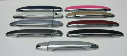 Color and Chrome Door Handles Overlays 2010 Toyota Avalon YOU PICK YOUR COLOR