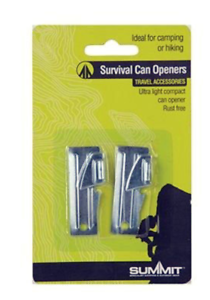 Summit Survival Can Opener Pack Of 2