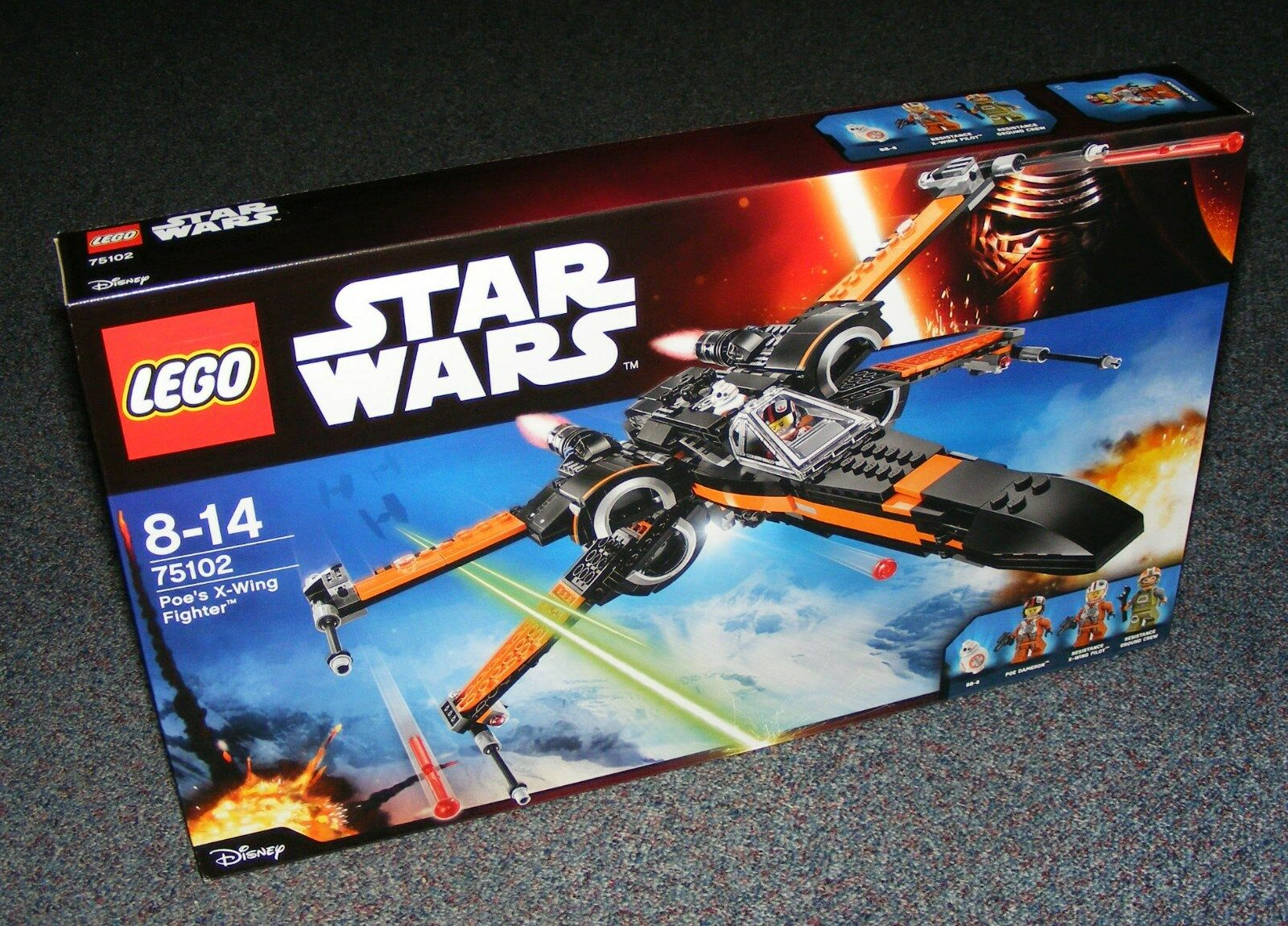 STAR WARS LEGO 75102 Poe's x-wing Fighter Neuf scellé Entièrement neuf dans sa boîte