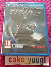 NINJA GAIDEN SIGMA 2 PLUS + PS VITA  NEUF SOUS BLISTER VERSION FRANCAISE