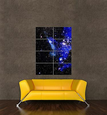 POSTER PRINT GIANT SPACE PHOTO NEBULA GALAXY COSMOS UNIVERSE HUBBLE PAMP270