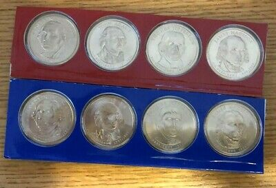 2008 P /& D Presidential  Dollar 8 Coin Lot Sealed Uncirculated Mint Set Cello