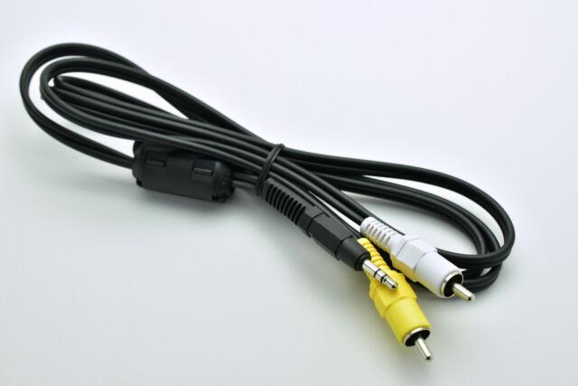 Genuine Nikon EG-D2 Audio Video Cable P/N 25280 5' D3 D80 D90 D300 D7000 (#3107)