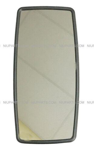 Rear View Main Mirror Black for Door Fit: International DuraStar 4300