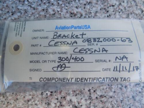 Serviceable  Cessna P//N 0832000-63 BRACKET