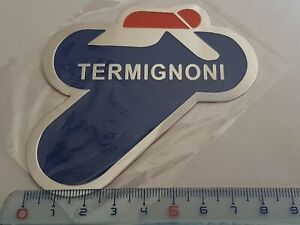 Plaque-Stickers-Echappement-Termignoni-Alu-finition-usine