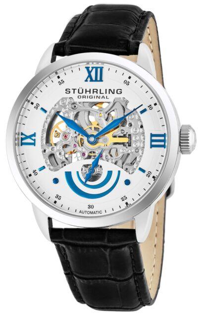 316691bedc75 Stührling original 574.01 - reloj Automático para hombre Correa de ...