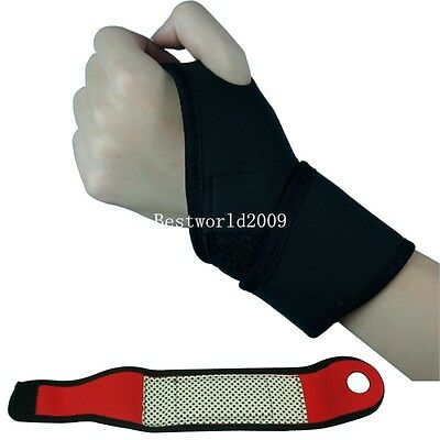 Bandage Hand Support Straps Gloves Gym Training Weight Lifting Wrist Wraps