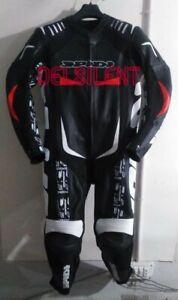 SPIDI-BLACK-Motorbike-Rider-039-s-Racing-Leather-Suit-2019-For-Men-amp-Women