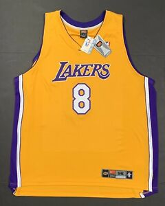 Details about New Nike Kobe Bryant Jersey Authentic Vintage Los Angeles Lakers Men's 56 3XL