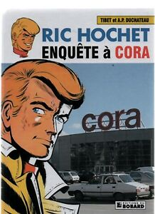 TIBET-Ric-Hochet-Enquete-a-Cora-Album-cartonne-Hors-Commerce-2016-Etat-neuf