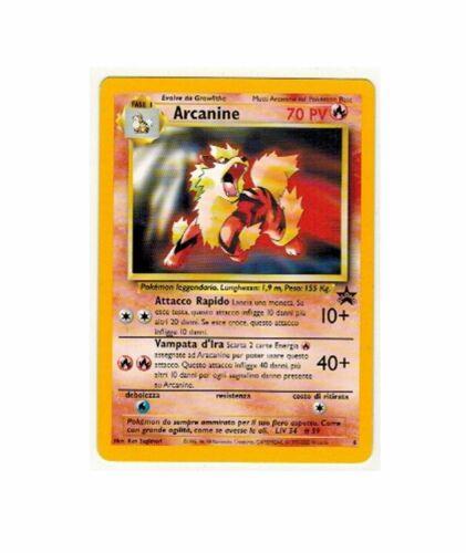 Pokemon TCG Black Star Promo Card 6 Arcanine
