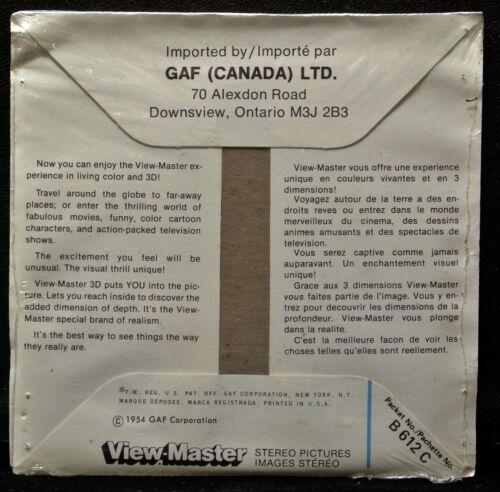 Sealed Vintage GAF VIEW MASTER World of Science WONDERS OF THE DEEP 1954