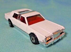 Matchbox 1988 Lincoln Town Car White With Sun Roof 3 Ebay