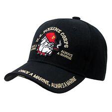 US Marines Bulldog Officially Licensed United States USA Baseball Cap Caps Hat