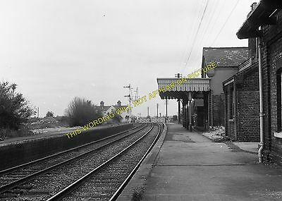 Newmarket to Soham and Mildenhall Lines. Fordham Railway Station Photo 8