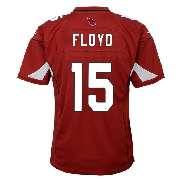 Nike NFL Youth Arizona Cardinals Michael Floyd 15 on Field Game Jersey Small