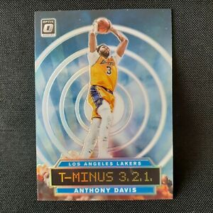 2019-20-Donruss-Optic-T-Minus-3-2-1-SP-Holo-Silver-2-Anthony-Davis-Lakers