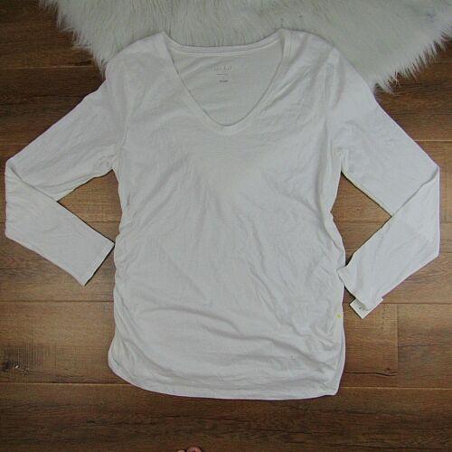 Ingrid /& Isabel Maternity Target Blouse Top Tee Long Sleeve Size S M L XL XXL