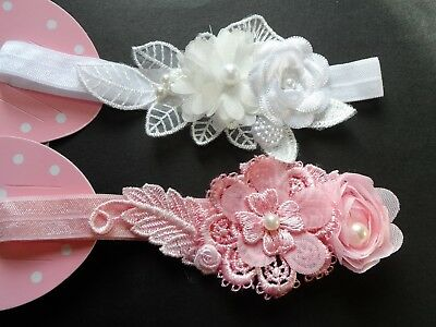 Baby/girls Velvet Hair Bow/headband/hairband/bridal/babyshower/christening,gifts