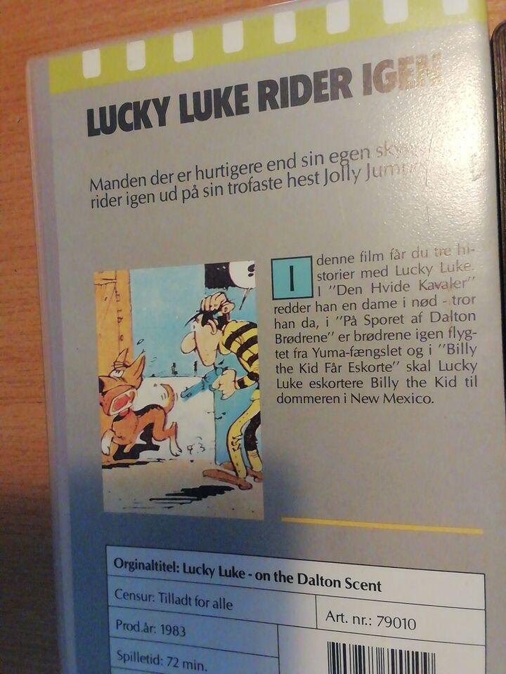 Tegnefilm, Lucky Luke Rider igen