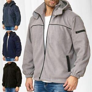 Veste-polaire-pour-hommes-Chemise-thermique-Sweat-a-capuche-Transition-Jacket