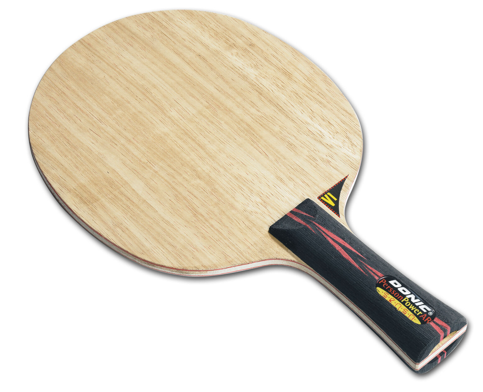 Donic Persson Powerallround Senso V2 Tennis de Table-Bois Raquette Table