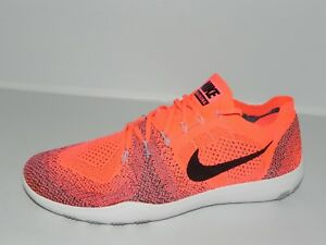107079712875af Nike Free Focus Flyknit 2 Women s Shoes 880630 600 (10.5   12 No Box ...