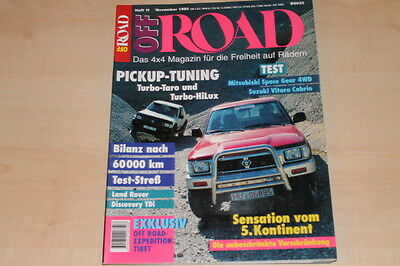 Off Road 11/1995 Vw Iltis Vorstellung Treu 71772