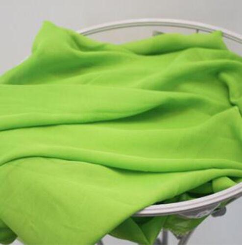 One PCS Chiffon Fabric Pre-Cut Dress Cloth Fabric for Sewing