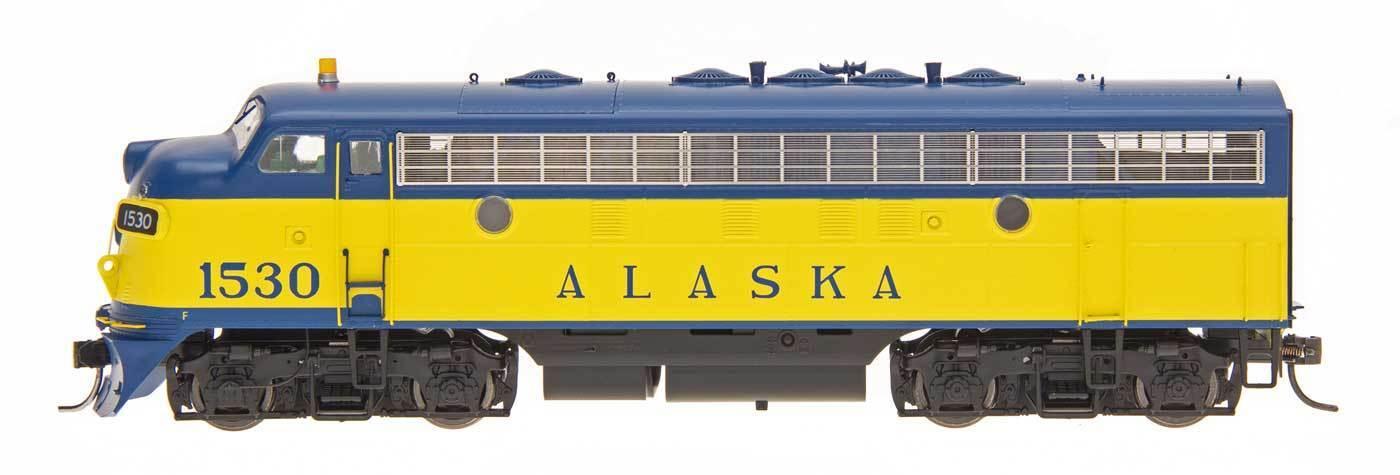 Esquema de punto del ferroCocheril de Alaska F7A ESU Lok Sistema de sonido instalado de fábrica-escala HO -