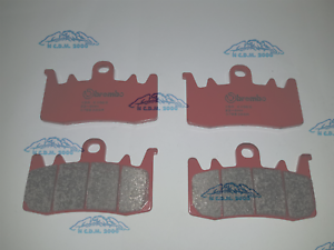 4-FRONT-BRAKE-PADS-BREMBO-SINTERED-DUCATI-PANIGALE-899-2014-2015
