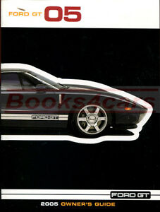 Image Is Loading Ford Gt Owners Manual  Ford Book Handbook
