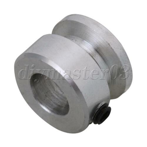 D16x8mm Einloch Nut Riemenscheibe mit Schlüssel Festschraube für Motorwelle